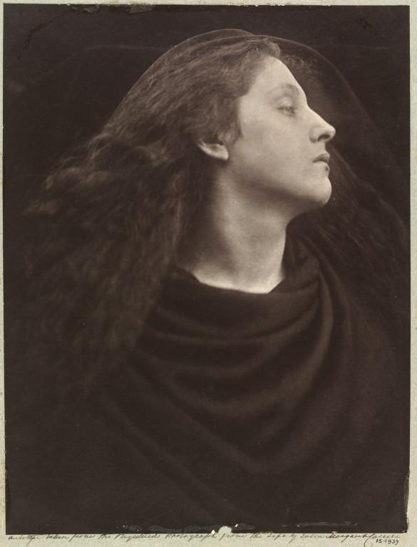 """Call, I Follow, I Follow, Let Me Die!', 1867 La donna ritratta é Mary Hiller."