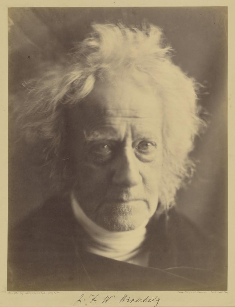 L'astronomo Sir John Herschel, 1867