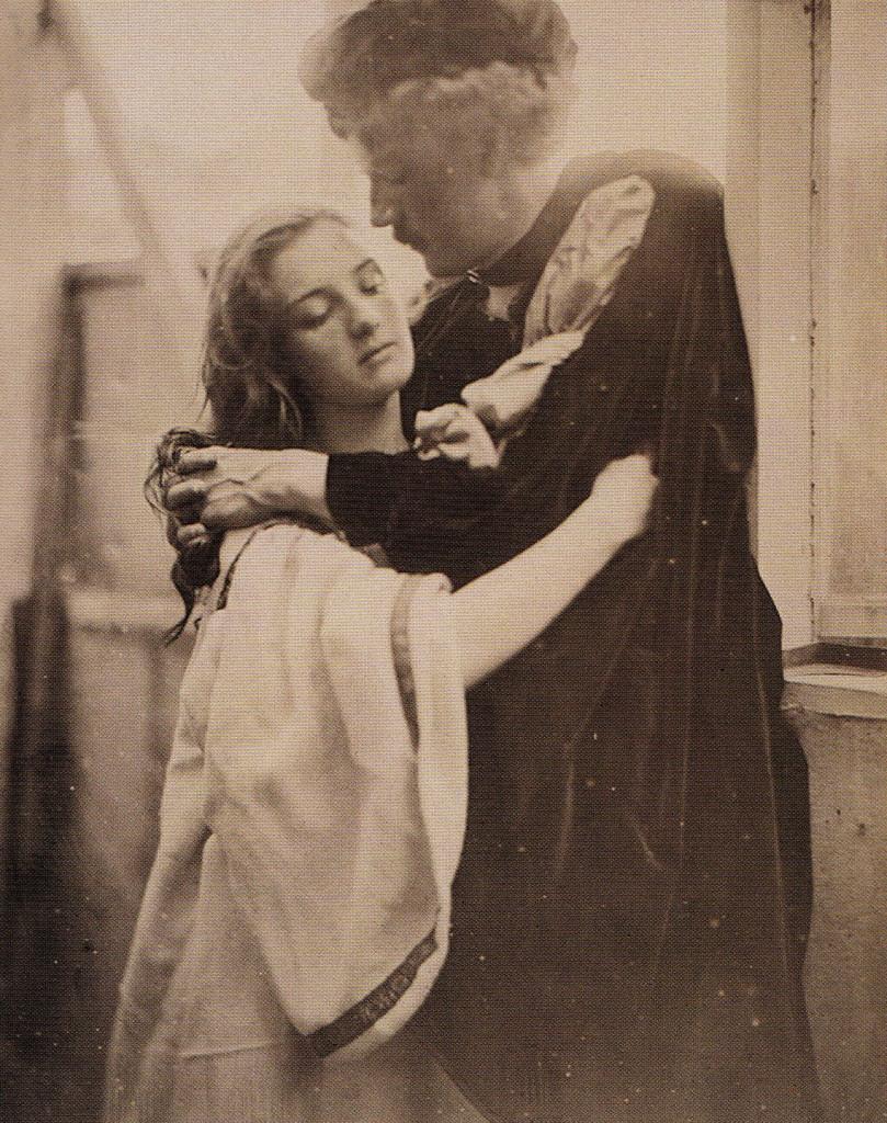 Romeo and Juliet, 1867 Mary Ryan e Henry James Steadman Cotton, sposati nel mese di quell'anno, posano come protagonisti della tragedia Shakesperiana